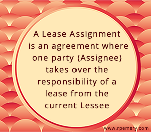 Lease Assignment definition
