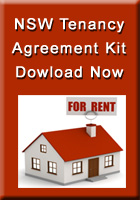 Residential Tenancy Agreement for NSW Australia Available for Instant Download now