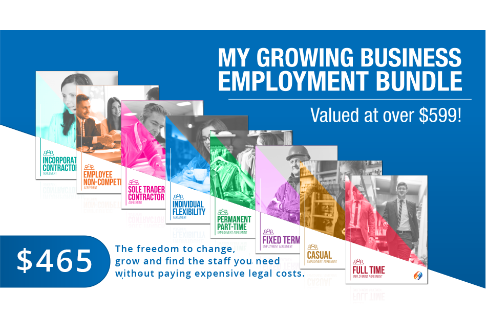 My Growing Business Employment Contract bundle