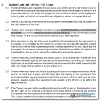 sample div 7a loan agreement